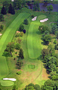 Sunnybrook Golf Club Aerials By Duncan Pearson Originals - 4th Hole Sunnybrook Golf Club 398 Stenton Avenue Plymouth Meeting PA 19462 1243 by Duncan Pearson