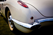 Vehicles Art - 1959 Chevy Corvette by David Patterson