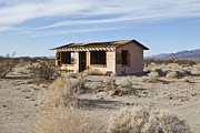 Scrub Brush Framed Prints - Abandoned Desert Home Framed Print by Paul Edmondson