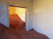 Abandoned Houses Photos - Abandoned House Filled with Drifting Sand by Jeremy Woodhouse
