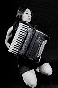 Beautiful Young Woman Prints - Accordion Print by Joana Kruse