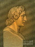 Alexander The Great Framed Prints - Alexander The Great, Greek King Framed Print by Photo Researchers