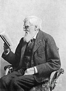 Social Issues Art - Alfred Russel Wallace, Welsh Naturalist by Science Source