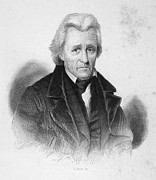19th Century America Metal Prints - Andrew Jackson (1767-1845) Metal Print by Granger