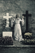 Crosses Photo Prints - Angel Print by Joana Kruse