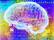 Artificial Intelligence Print by Pasieka