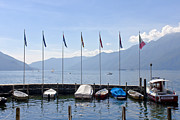 Lakeside Framed Prints - Ascona - Ticino Framed Print by Joana Kruse