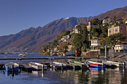 Mountain View Photo Prints - Ascona Print by Joana Kruse