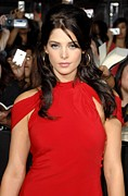 Hoop Earrings Posters - Ashley Greene At Arrivals For The Poster by Everett