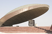 Entrance Memorial Photography Photos - Baghdad, Iraq - A Great Dome Sits At 12 by Terry Moore