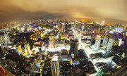 Business-travel Originals - Bangkok night by Anek Suwannaphoom