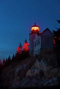 Mt.desert Island Prints - Bass Harbor Lighthouse Print by John Greim