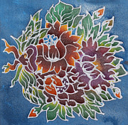 Painted Image Drawings - Batik design by Suphatthra China