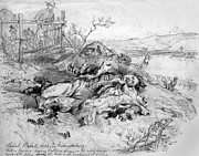Rudolph Prints - Battle Of Fredericksburg Print by Granger