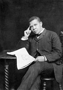 Reformer Framed Prints - Booker T. Washington Framed Print by Granger