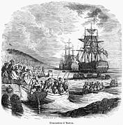 Boston: Evacuation, 1776 Print by Granger