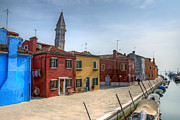 Peaceful Scene Photos - Burano - Venice - Italy by Joana Kruse