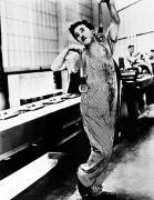 Chaplin: Modern Times, 1936 Print by Granger
