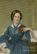 Charlotte Art - Charlotte Bronte, English Author by Photo Researchers