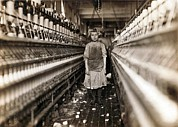 Textiles Photos - Child Laborer Portrayed By Lewis Hine by Everett