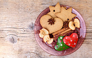 Spiced Photos - Christmas Gingerbread by Nailia Schwarz