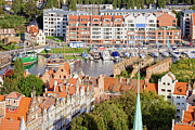 Rooftop Photos - City of Gdansk in Poland by Artur Bogacki