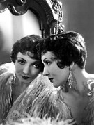Claudette Colbert, Paramount Pictures Print by Everett
