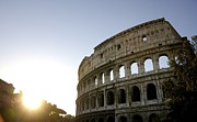 Attractions Prints - Coliseum. Rome Print by Bernard Jaubert