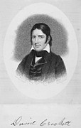 Settler Prints - Davy Crockett (1786-1836) Print by Granger