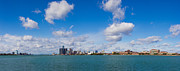 Detroit Posters - Detroit Michigan Skyline Poster by Twenty Two North Photography