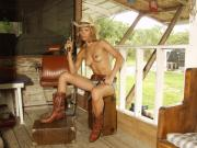 Nude Cowgirls Glamorous Photos Framed Prints - Everglades Cowgirl Framed Print by Lucky Cole