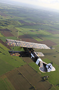 Model Aircraft Prints - Fokker D.vii World War I Replica Print by Daniel Karlsson
