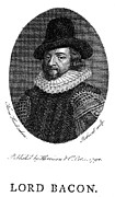 Francis Prints - Francis Bacon (1561-1626) Print by Granger