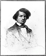 African American Activist Art Prints - Frederick Douglass, African-american Print by Photo Researchers