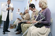 50s Photos - General Practice Waiting Room by Adam Gault