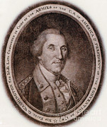 Colonial Man Prints - George Washington, 1st American Print by Photo Researchers