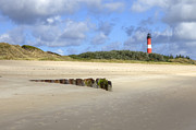 Sandy Beach Prints - Hoernum - Sylt Print by Joana Kruse