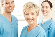 35-39 Years Prints - Hospital Staff Print by
