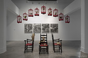 The Warehouse Gallery Sculptures - Installation view by Deng Guo Yuan