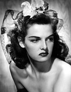 Head Piece Posters - Jane Russell, Portrait Poster by Everett