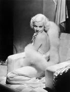 Harlow Framed Prints - Jean Harlow (1911-1937) Framed Print by Granger
