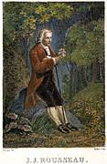 Jean-jacques Rousseau Print by Granger
