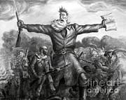 Abolition Posters - John Brown, American Abolitionist Poster by Photo Researchers
