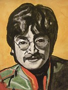 Sgt Pepper Beatles Paintings - John Lennon by Jeremiah Cook
