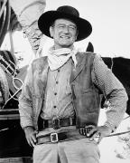 Neckerchief Framed Prints - John Wayne (1907-1979) Framed Print by Granger