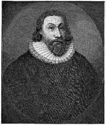 Winthrop Art - John Winthrop (1588-1649) by Granger