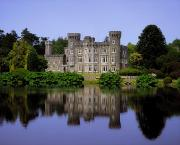 Riverbank Prints - Johnstown Castle, Co Wexford, Ireland Print by The Irish Image Collection 
