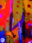 Abstract Impression Paintings - Just In Time by Allen n Lehman
