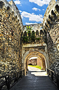 Arches Photos - Kalemegdan fortress in Belgrade by Elena Elisseeva