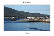 Signed Photo Framed Prints - Ketchikan Framed Print by William Jones